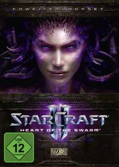 [PC/Mac] Mists of Pandaria, Starcraft 2: Wings of Liberty, Heart of the Swarm (12/17/18 €) @Amazon.de
