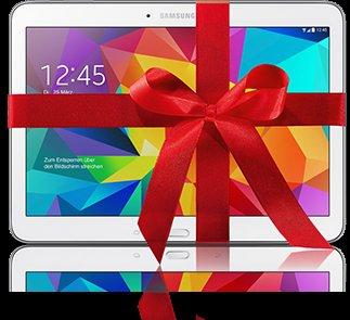 1&1 Doppel-Vertrag abschließen und Tablet GRATIS* dazu. 29,99€ die ersten 24 Monate