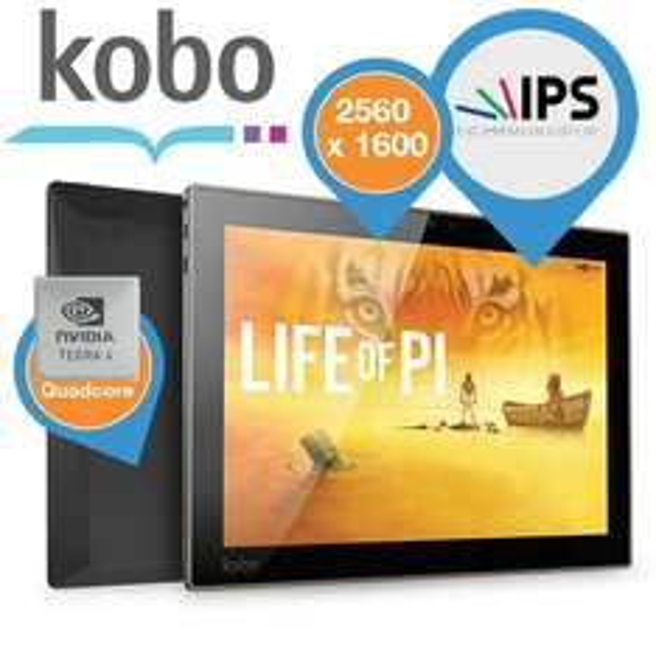 Kobo Arc 10 HD für 235,90 EUR bei ibood - eReader
