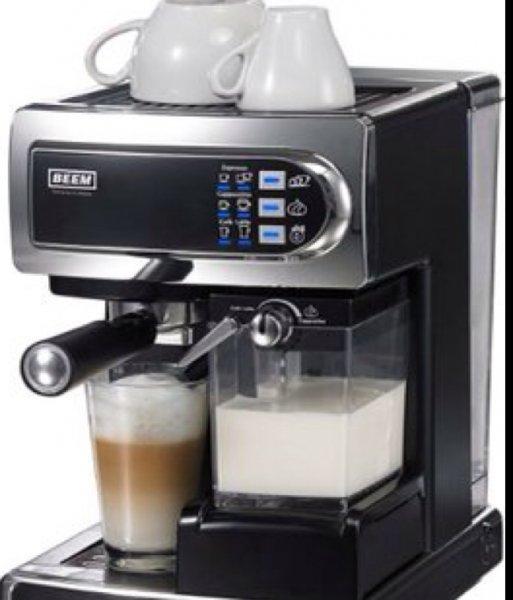 Siebträger-Espressomaschine mit Milchaufachäumer - Beem Germany D2000.550