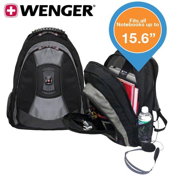 [ibood.com] Wenger Teton Laptop Rucksack bis 15,6Zoll, Idealo.de ab 50,70€