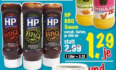 HP Barbeque Sauce, ab 18.06.2014, bei Krümet Sonderpostenmärkte