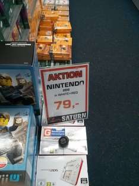 [Lokal Leipzig] Saturn Hbf: Nintendo 2DS 79€, Wii U Premium Lego City Undercover 249€!