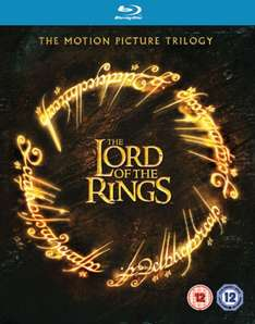 The Lord of the Rings - The Motion Picture Trilogy (Theatrical Version) [Blu-ray] für 8,74 € inkl. Vsk.