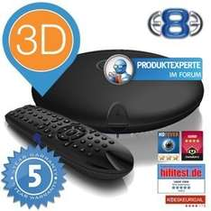 [iBood] Mede8er MED 1000X3D Media Player - ohne integr. HD und ohne WiFi für 136€ @iBOOD