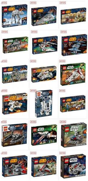 [galeria-kaufhof] -15% auf alle LEGO Star Wars + Gutscheincode (-10%)