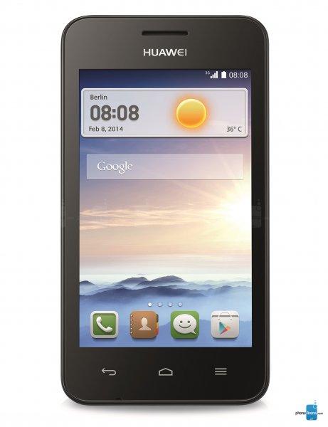 Huawei Ascend Y330 Schwarz für 65€ @Smartphoneworld