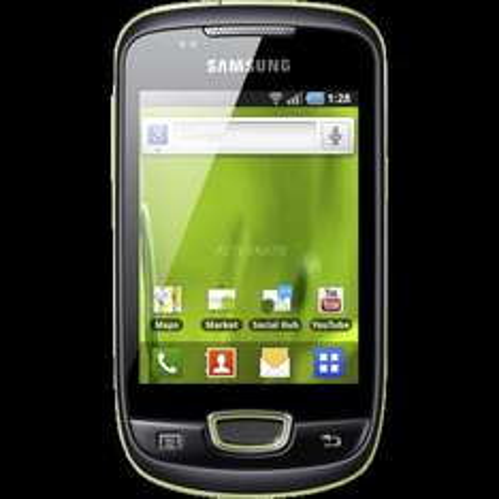 Smartphone Samsung Galaxy mini GT-S5570i grün (Mydealz-Version) für 59,85€ inkl. VSK @ZackZack