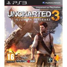 PS3 Uncharted 3 Pre-Order-Aktion + Gratis PS3 Bluetooth Headset für 65,50 € - Amazon