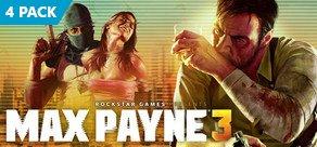 Max Payne 3 Viererpack für 11,50€ | Steam-Keys | Nuuvem.com.br