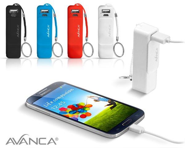 2000MAH EXTERNE AKKU für Smartphones, Tablets, Navigation, MP3-Player für 12,80€