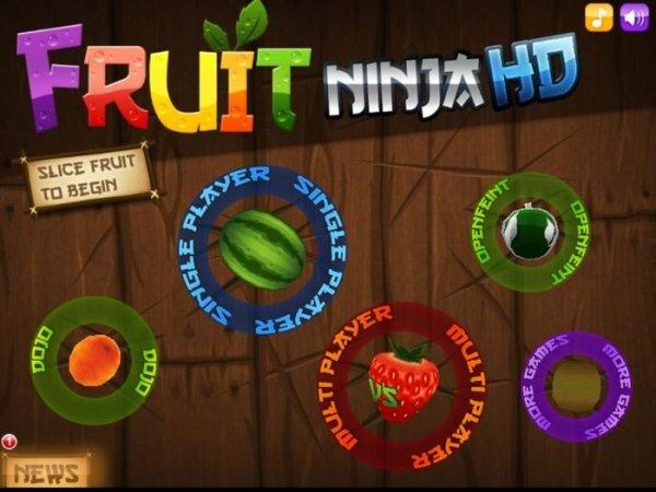 fruit ninja hd IOS kostenlos