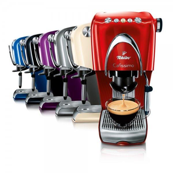 Tchibo Cafissimo CLASSIC Kaffeemaschine (versch. Farben) + 50€ Geschenkkarte  für 99€