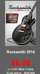 [Steam]Rocksmith 2014 Edition für $6 / 4,45€ Steam Preis 49,99€ =D