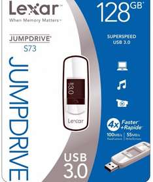 [LOKAL Elmshorn] Lexar JumpDrive S73 128GB USB 3.0 Stick für 35 Euro im Mediamarkt