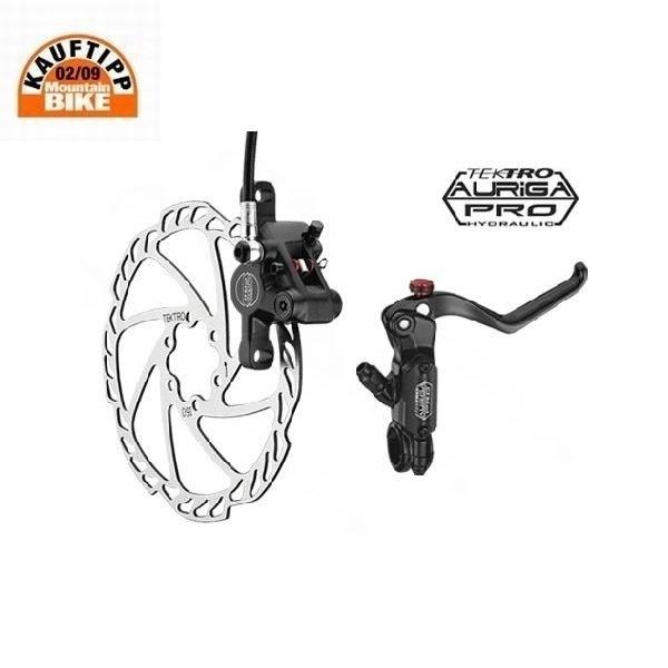 Tektro Auriga Pro 180/160mm Scheibenbremsen-Set für 119,90€ inkl. Versand - Vergleichspreis 167,40€ inkl. VSK@Bike24.de