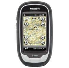 MEDION GoPal S3867 MD 98406 Outdoor Navigationssystem 8GB