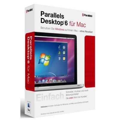 Parallels Desktop 6 für Mac - Aktionsangebot