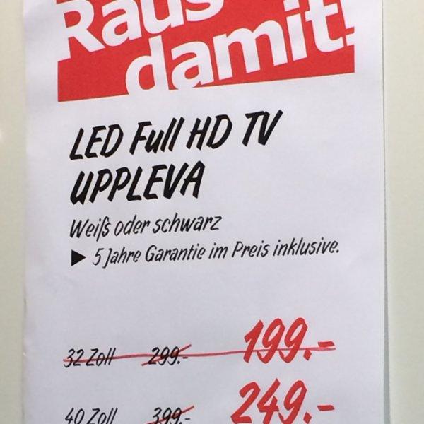 "[LOKAL] 46"" LED TV inkl 5 Jahre Garantie IKEA Essen € 299"