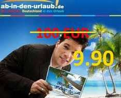 AIDU - Reisegutschein Wert 100 € f. 9,90 €