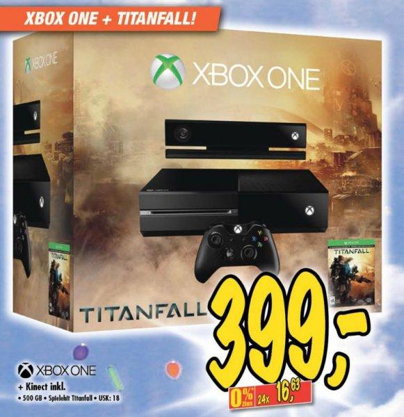 [Lokal Technoland Deizisau] Xbox One Titanfall Bundle 399€