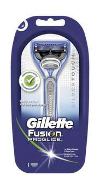 Gillette Fusion ProGlide Rasierer Silvertouch Edition für 5.79€ @Action lokal