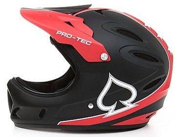 PRO-TEC  Helm Shovelhead 2 Fullface Helm schwarz-rot bei brands4friends