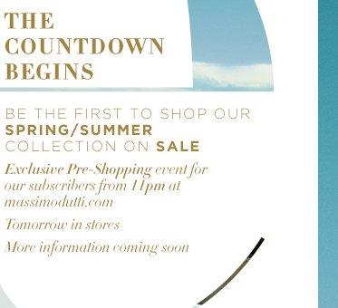Massimo Dutti Spring/Summer Sale Online und Filiale ab heute Abend 0 Uhr/morgen