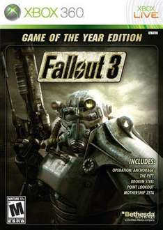 Fallout 3: Game Of The Year Edition [Xbox 360,PC,PS3]  für ca. 14.60€ @ thehut