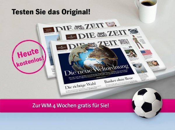 Die Zeit (inkl. Komplett-Archiv und ZEITmagazin) - 4 Wochen gratis (Kündigung notwendig)