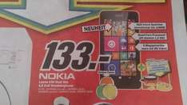 [Lokal MM Friedrichshafen] Nokia Lumia 630 Dual SIM + ComBinho