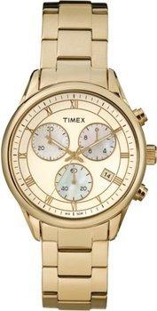 Timex Damen-Armbanduhr Timex Style Chronograph Quarz T2P159 @Amazon