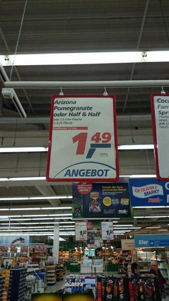 Arizona Iced Tea 1,5 Liter - 1,49€ @ Real Uelzen