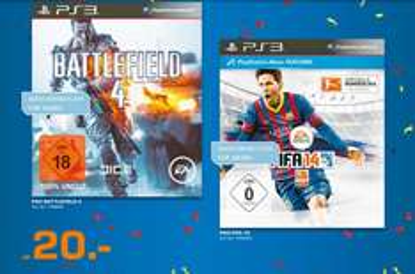 (Saturn München Lokal) Fifa 2014 / Battlefield 4 Für die Ps3+Xbox