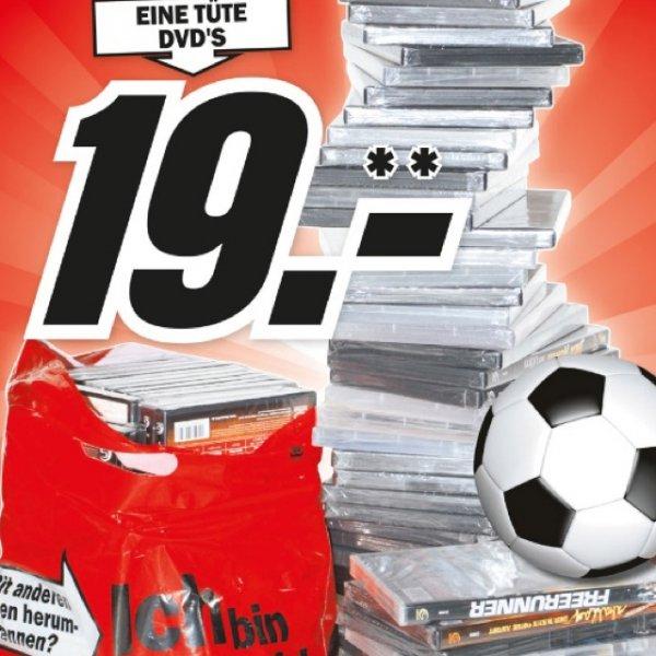 MM (Lokal München?) Eine Tüte DVD's