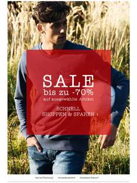 [mustang-jeans.com] bis zu 70% sparen im aktuellen Sale