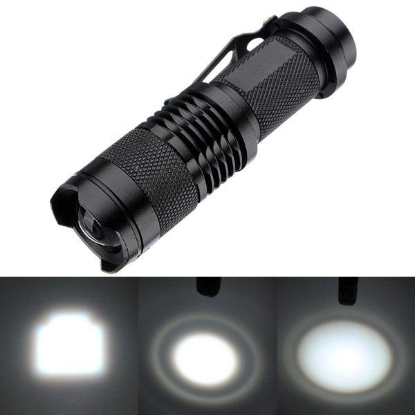 Top Superhelle Cree Q5 Alu Taschenlampe ab 2,90 Euro (kostenloser Versand) aus China!