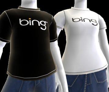 Xbox 360 Bing Avatar T-shirt Kostenlos...