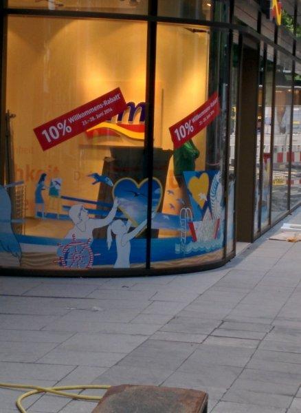 10 % Willkommens-Rabatt vom 23.-28. Juni DM Neueröffnung Frankfurt Innenstadt