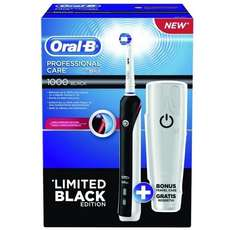 [MÜLLER] ORAL-B Professional  Care 1000 + Limited Black Edition (Angebot + Cash-Back + 2 Coupons) -56% + 1,24€ Coupon NUR HEUTE