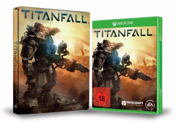 Titanfall inkl. exklusivem Amazon Steelbook nur 41,97€ + 5€ 18er VSK (Xbox One)