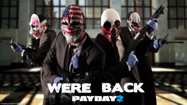 [Steam] Payday 2 - Four Pack für 27,38€ (~6,85€ p.P.) oder einzeln für 9,23€