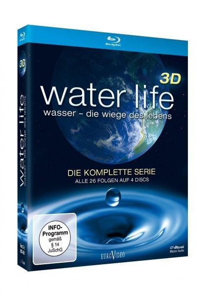 [Amazon.de] Water Life 3D: Wasser - Die Wiege des Lebens (Die komplette Serie, Alle 26 Folgen auf 4 Discs) 19,97 €
