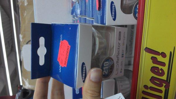 LOKAL [Kaufland Bentwisch- bundesweit?] Samsung LED für GU10 310 Lumen (entspricht 35 Watt Halogen) nur 2,24€!!!