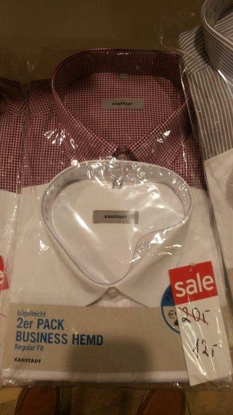 [Bonn] 2x Karstadt Business Hemden für zusammen 9,60€