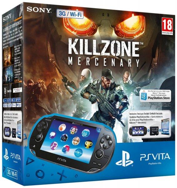Amazon WHD PS VITA WIFI/3G Killzone Bundle (+8GB) ab 127,44€ + 5€ Strafversand