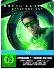 [MM Online] Green Lantern Extended Cut Steelbook Blu-ray versandkostenfrei für 7€