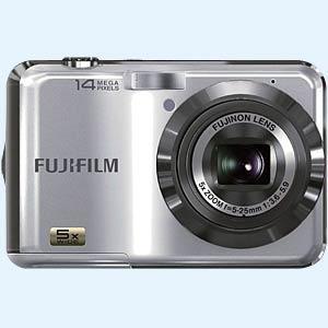 Fuji Finepix AX250 - Digitalkamera, silber, 14 MP, 5-fach Zoom