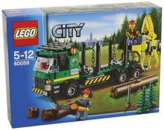 Lego City Holztransporter 60059 @Amazon.de für 15,90€ [PRIME]