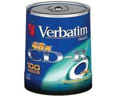 Verbatim CD-R 700MB 80min 52x Extra Protection 100er Spindel für 15,99
